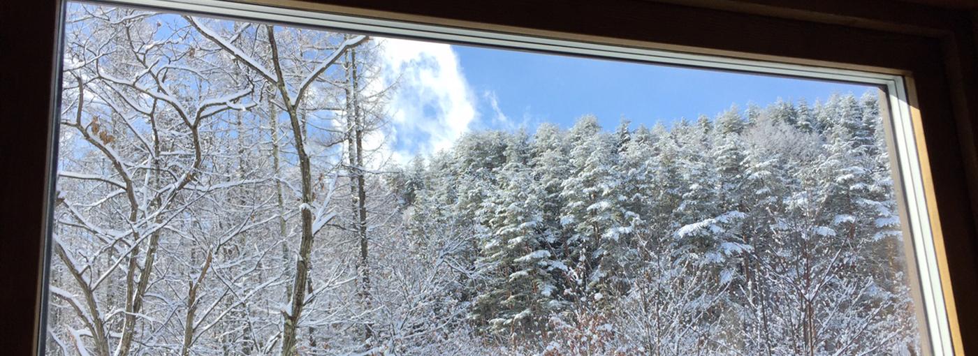 北アルプス・有明山の麓にある安曇野市穂高有明の温泉宿 FoRESTree